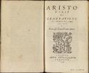 Aristotelis De generatione et corruptione, libri duo